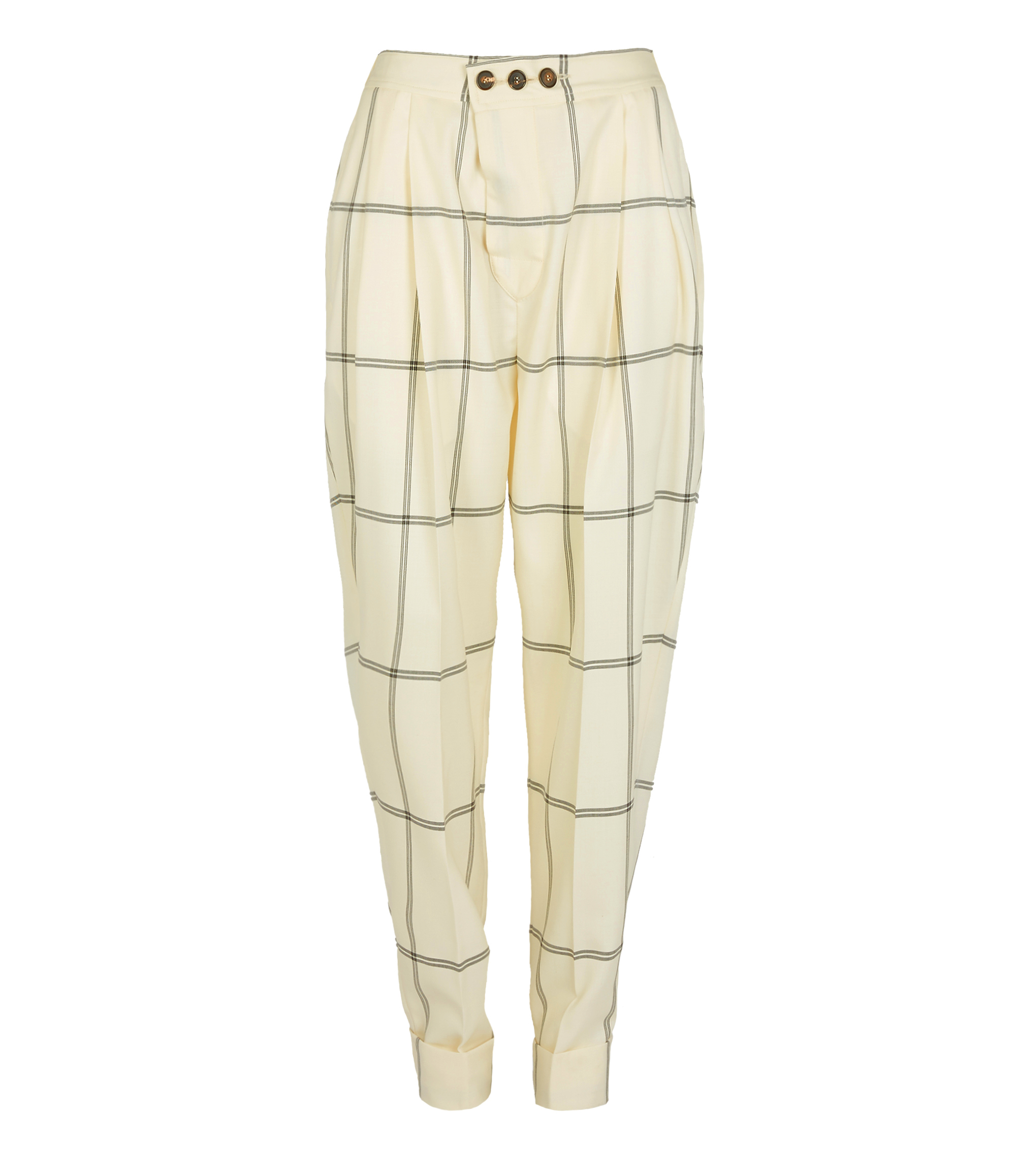 Vivienne Westwood Zoot Trousers White Check